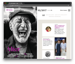 Evonik Magazin - Ein Projekt mit WordPress und Advanced Custom Fields