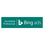 P&M Online-Marketing Agentur - Accredited Professional Bing Ads Logo