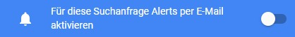 "Die Google Jobs Funktion ""Job-Alert""."
